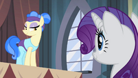 Sapphire Shores talking to Rarity S4E19