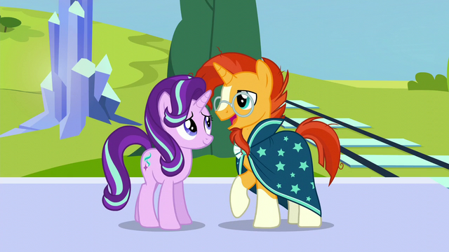"File:Sunburst ""like I'd ever lose touch with my oldest friend"" S6E2.png"