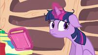 Twilight hear Spike S2E21