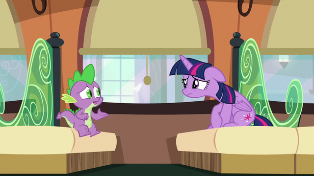 """File:Spike """"What are you talking about?"""" S6E2.png"""