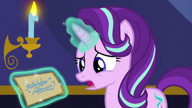 """File:Starlight Glimmer """"who'd be sending me a letter?"""" S6E25.png"""