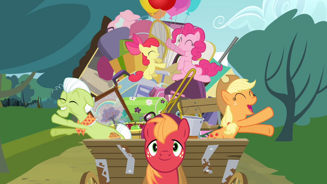 File:Applejack and Granny Smith clapping their hooves S4E09.png
