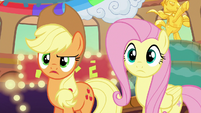 "Applejack confused ""the what now?"" S6E20"