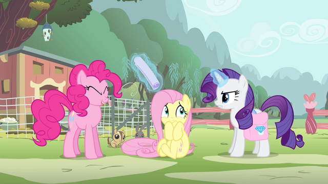 File:Pinkie Pie hit by flier S4E14.png