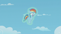 "Rainbow Dash ""Hey! What gives?"" S5E25"