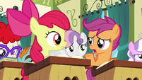 "Scootaloo ""that is a lot of work"" S6E14"