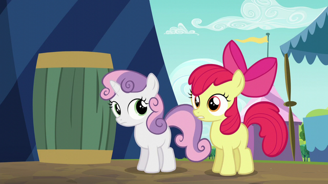 "File:Apple Bloom ""I can't believe they bought it!"" S5E17.png"