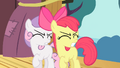 Apple Bloom and Scootaloo closes their eyes S4E05.png
