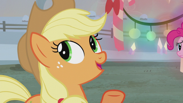 "File:Applejack ""we've been doin' everythin' your way"" S5E20.png"