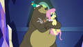 Fluttershy joins critter group hug S5E3.png