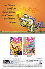 Friends Forever issue 32 credits page