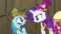 Rarity leave him alone S2E21