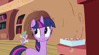Twilight Sparkle and Spike S2E03
