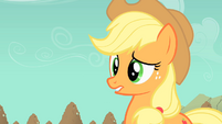 Applejack biting lip S01E19