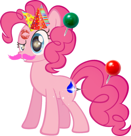 File:FANMADE Pinkie Pie party pony.png