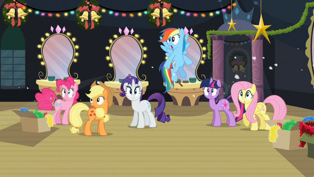 File:Main ponies S2E11 Shocked.png