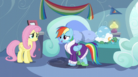 Rainbow Dash feeling better after crying S5E5