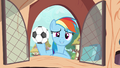 Rainbow with soccer ball S4E21.png