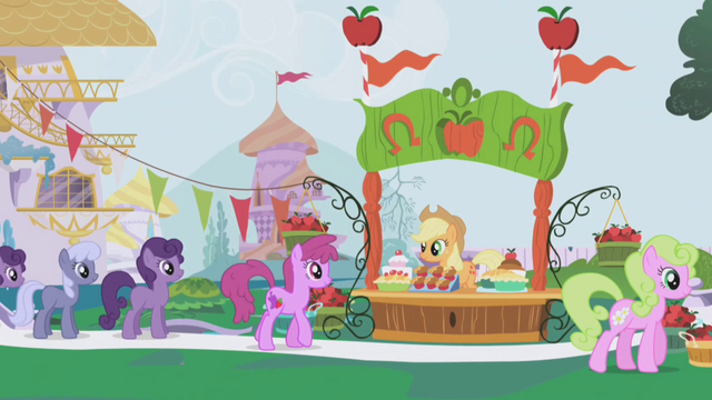 File:Applejack's dream of the Gala S01E03.png