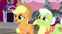 "Applejack ""makes me feel closer to them"" S7E13"