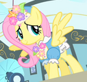 Fluttershy flowery outfit ID S1E20.png