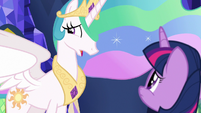 "Princess Celestia ""I was afraid"" S7E1"