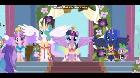 Behold, Princess Twilight Sparkle/International versions
