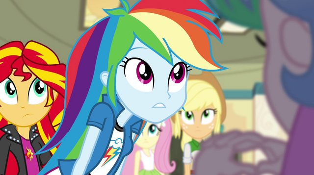 "File:Rainbow Dash ""that's not what's happening"" EG2.png"