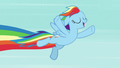 Rainbow Dash soaring through the sky S7E2.png