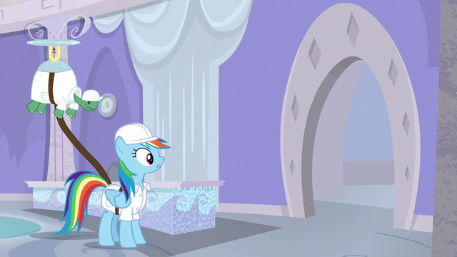 File:Rainbow looks at something S5E5.png