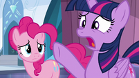 "Twilight ""the entire city's about to become a winter wasteland!"" S6E2"
