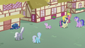 Diamond gallops into Ponyville alleyway S5E18.png
