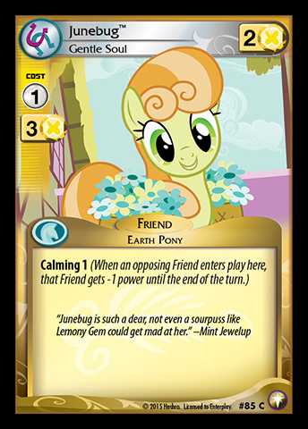 File:Junebug, Gentle Soul card MLP CCG.jpg