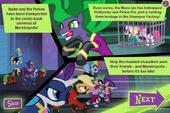 Power Ponies Go scene 1 screen