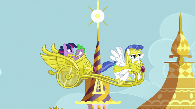 File:Twilight and Spike leaving for Ponyville S7E1.png
