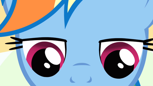 File:Closeup on Rainbow Dash's face while she is reading S2E16.png