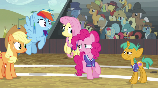 """File:Pinkie Pie """"Braeburn is really good!"""" S6E18.png"""