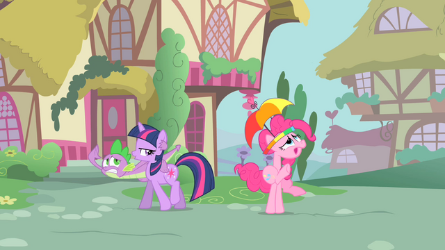 File:Pinkie Pie and Spike looking above them S1E15.png