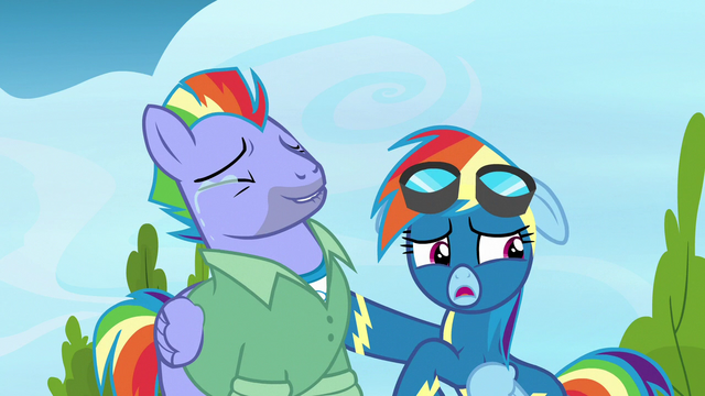 "File:Rainbow Dash ""we're in public"" S7E7.png"