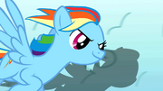 Rainbow Dash twirling clouds S1E16.png