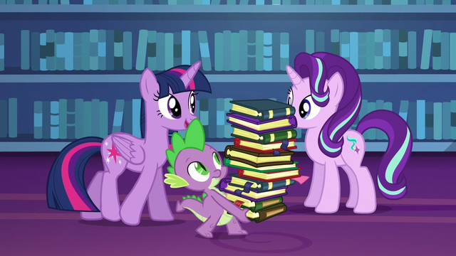 "File:Twilight ""tackle a friendship lesson today"" S6E21.png"