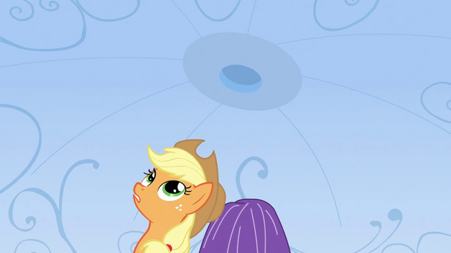 File:Applejack 'These Crystal Ponies are more curious than a cat' S3E2.png