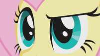 Close up of Fluttershy's eyes S1E07