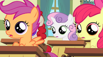 Fillies listen to Ms. Harshwhinny S4E05