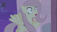 Fluttershy has to hide fast S5E02