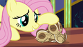 Fluttershy petting her chipmunk friends S6E21.png