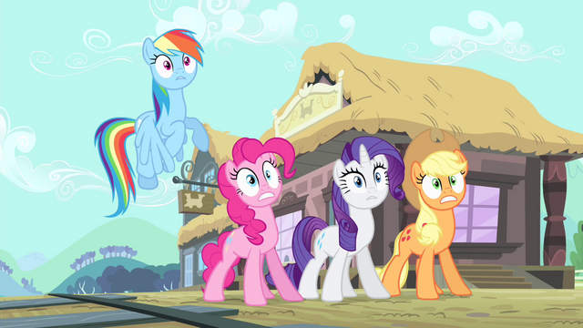 File:Main cast shout Discord's name S4E11.png