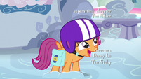 Scootaloo excited to meet Rainbow Dash's parents S7E7