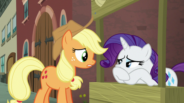 """File:Applejack """"not sure what we're supposed to do"""" S5E16.png"""
