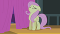 Fluttershy getting ready S4E14.png